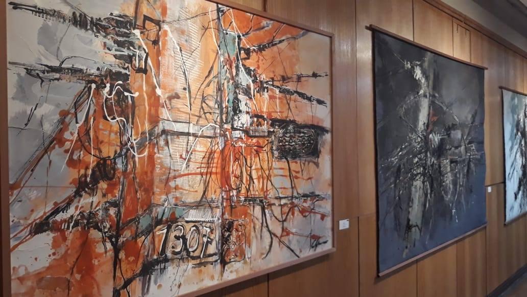 Galería de Arte de Talca expone obras de artista alemana Camilla Grimm
