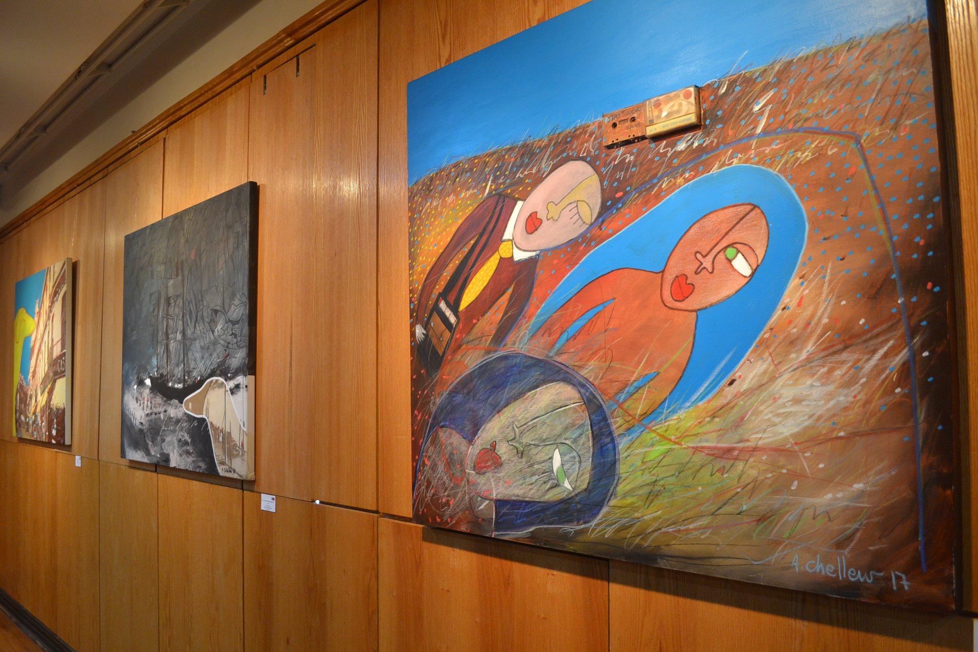 Galería de Arte de U. Autónoma exhibe el viaje interior de Álex Chellew